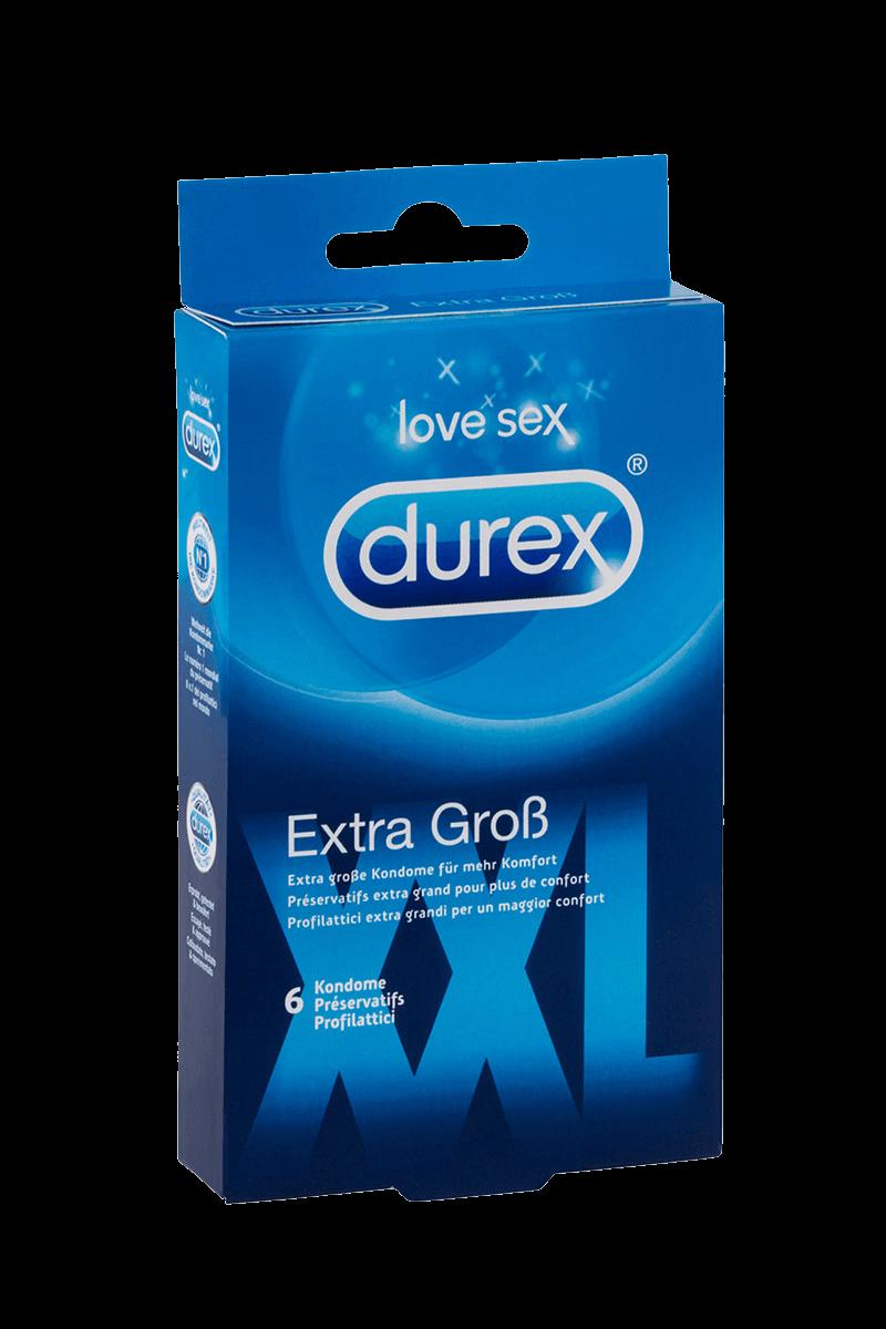Kondome XXL - Durex extra groß