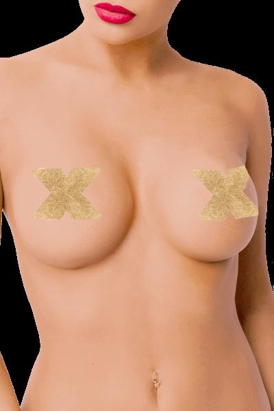 Nipple Pasties Kreuzform