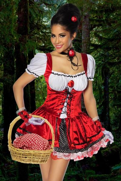 Rotkäppchen- Kostüm