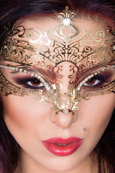 Majestätische Maske