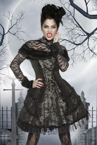 Vampir Kostüm schwarz