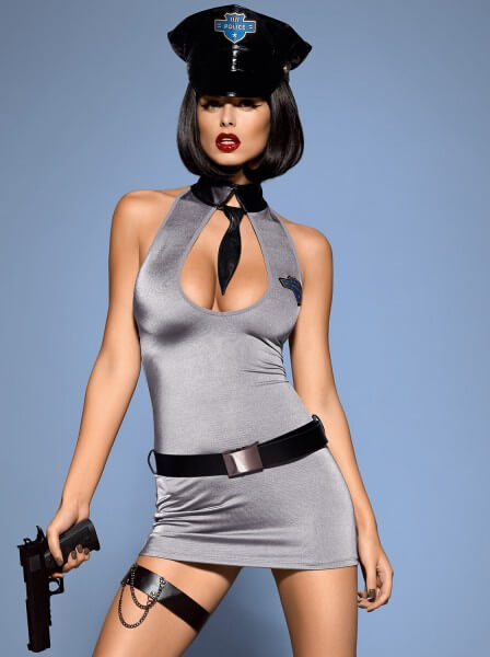 Sexy Polizei Dress