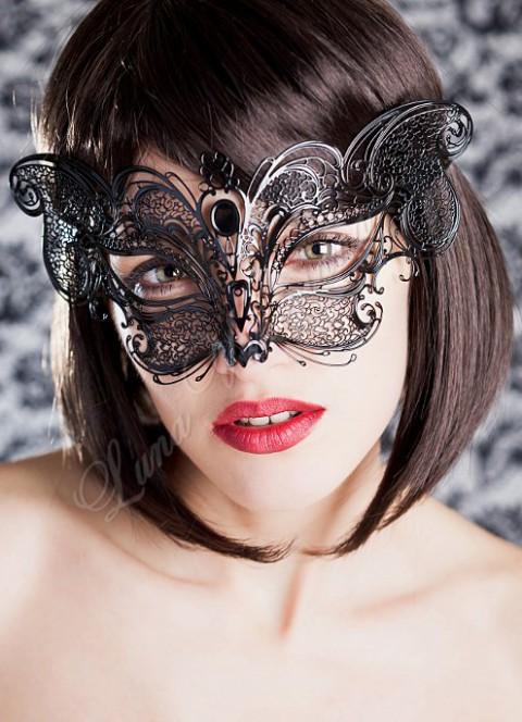 Schmetterlings Maske