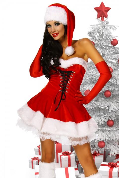 Sexy Weihnachtskleid