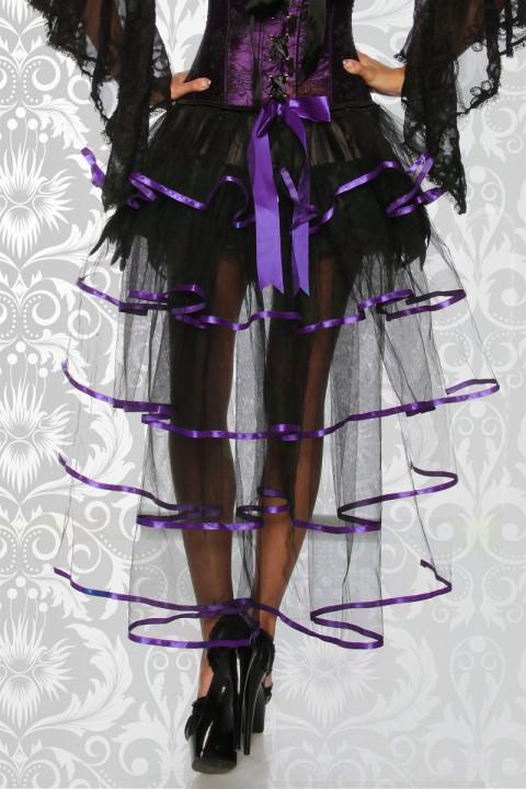 Burlesque Federrock lila