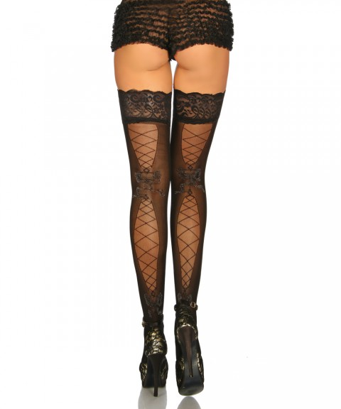 Stockings mit Muster